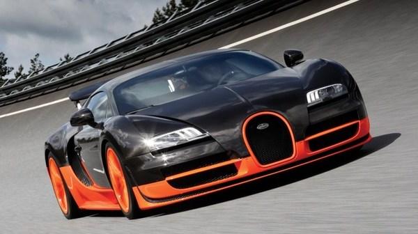 sports car 'Bugatti Veyron